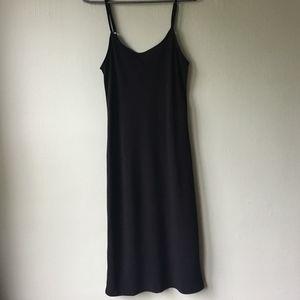American Apparel Black Slip Dress